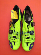Gaerne G Stilo Carbon Yellow Blue Limited Edition Road Shoes Cycling EU 44 US9.5