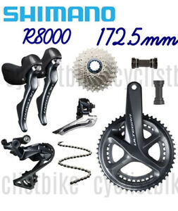 Shimano Ultegra R8000 Groupset 2x11speed (172.5mm) Kit Road bike New