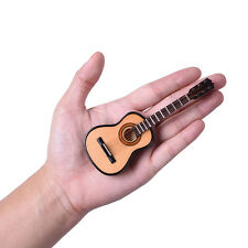 Mini Classic Guitar Miniature Wooden Musical Instruments Collection Ornament Hot