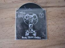 THRONEUM - Death Throne Entities CD Promo POSSESSED SADISTIK EXEKUTION AZARATH