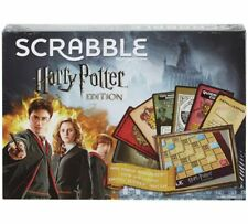 Scrabble DPR77 Harry Potter Edition Board Game With Magical Hogwarts Cards
