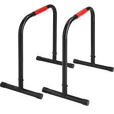 Barres parallèles station dips fitness push up musculation pompes d'étirement