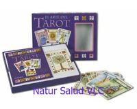 CARTAS DE TAROT_EL ARTE DEL TAROT_ 78 cartas BOX + Libro_New Sealed
