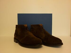 [LIKE NEW] Sanders Holborn ChocolateSuede Leather Chukka Boot UK 7G/US 8EE