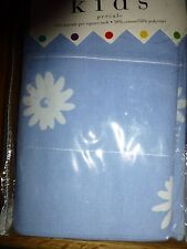 Colormate for Kids Daisy II Window Valance Blue NEW NIP