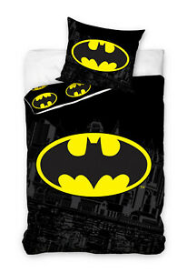 Batman Ropa de Cama 135 X 200CM + 50 X 75CM
