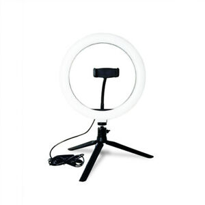 """10""""  Rin g Light  Photo Video Dimmable Lamp with Tripod Stand B7I2"""