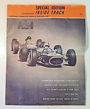Vintage 1965 Strombecker INSIDE TRACK Special Edition Magazine Slot Cars Racing