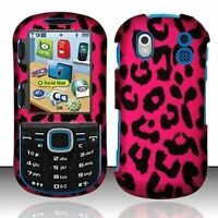 Rubberized Solid Snap-On Hard Case Cover For Samsung Intensity II 2 SCH U460 NEW