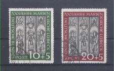 Bund / BRD  Michel Nr. 139 - 140 Marienkirche gestempelt.