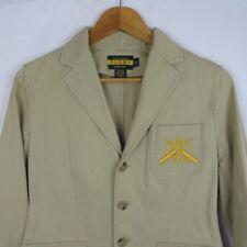 Ralph Lauren Rugby Blazer Size 6 Khaki Tan Jacket