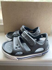 Crocs Toddler Size 5 Gray Sandal
