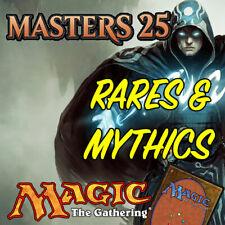 Magic the Gathering MTG Masters 25 A25 Mythic Rares & Rare Cards NM/M