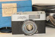 Fed Mikron Rare Soviet Compact Rangefinder Camera + Box