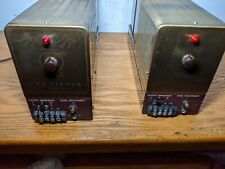 The Fisher 100 (pair mono tube amps)