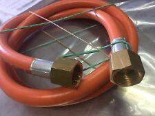 LPG NL GAS HOSE 6mm PVC 3/8'' SAE FF x 3/8'' SAE FF 6HFB1200 1.2M 4444/1200