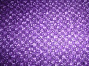 Monet Collection Dark and Light Purple Quilting Fabric 50cm piece