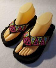 NEW - Blazin Roxx Women's Flip Flops - #4110801 Rachel Black