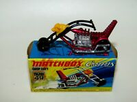 Matchbox Superfast No 49 Chop Suey BLACK Handlebars VNMIB VERY RARE