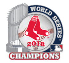 2018 World Series Champions Boston Red Sox Lapel Pin Trophy Style