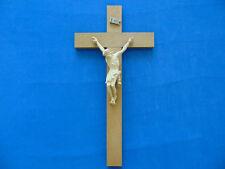 Altes Holzkreuz mit Jesusfigur - Dachspeicherfund aus Nachlaß!