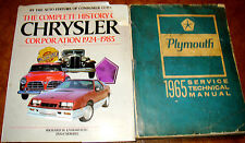 1965 Plymouth Service Manual Satellite 426 Belvedere Barracuda Valiant Fury I II