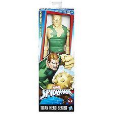 MARVEL SPIDER-MAN SERIE DE Hero Titan VILLANOS DE MARVEL SANDMAN FIGURA NUEVA