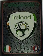 462 REPUBLIC OF IRELAND badge shiny Panini Euro 2016 France sticker