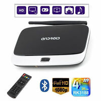 Quad Core Android 4.4 Smart TV Box Player XBMC HDMI WiFi 1080P 2GB 8GB CS918 SY
