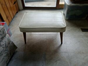 Vintage Mid Century MCM 60s Babcock Phillips Foot Stool Ottoman