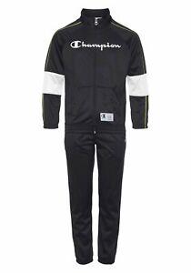 Champion Trainingsanzug »Full Zip Suit« (2-tlg), 593541 Schwarz Gr.140/146