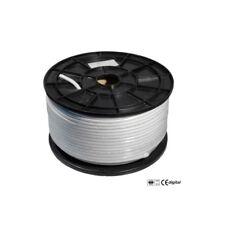 100m Sat Koax Kabel 120dB 4x geschirmt Digital Koaxialkabel Antennenkabel 3D HD