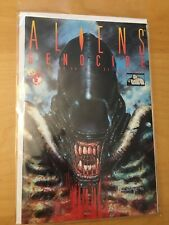 ALIENS GENOCIDE 1 & 2 (of 4), NM (9.2 - 9.4) 1ST PRINTS, 1991, DARK HORSE