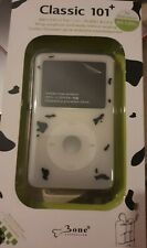 Black & White Silicone Skin Case for iPod Classic Thin with Click Wheel