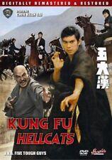 KUNG FU HELLCATS: Five Tough G- Hong Kong RARE Kung Fu Martial Arts Action movie