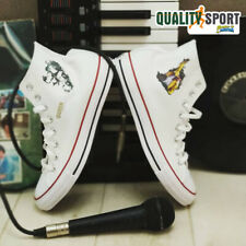 Converse CT All Star Hi Bianco Scarpe Sneakers Personalizzate Customized Stampa
