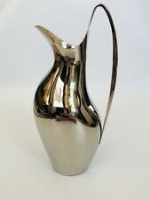 Georg Jensen Denmark Stainless Steele Pitcher From Aria Hotel Beautiful 13.5x7�