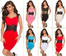 Damenkleider mit V-Ausschnitt für Party -/Cocktail Strumpfhose in Größe XS