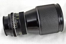 1970s Voigtlander Color-Dynarex f4/200mm Camera Lens Rollei Vintage QBM Mount