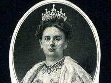 Netherlands Indies:Queen Wilhelmina Printer Die * 1919 * American Bank Note Co *