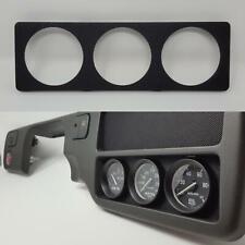 Radio Gauge Pod :: 92-95 Honda Civic (all) :: 52mm x 3 / Tri-Gauges plate delete