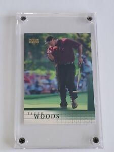 Tiger Woods 2001 Upper Deck Golf RC Rookie Card #1