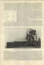 1920 Bateman Electrically Driven Planing Machine Ward Haggas Smith