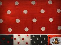 "Taffeta Flocking Dots Fabrics / 58"" Wide / Sold by the yard"