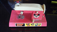 Disney Minnie Mouse working sewing machine early 1970s