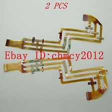 2pcs LCD Flex Cable For SONY DCR-SX85E DCR-SX45E DCR-SX65E HDR-CX130E HDR-CX180E