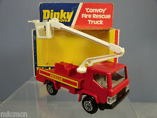 "DINKY TOYS MODEL No.384      ""CONVOY""  FIRE RESCUE TRUCK       MIB"