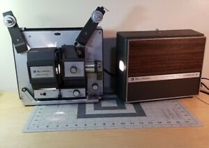 Bell & Howell Filmosound 8 458A Super8 And 8mm Film Projector Tested Works