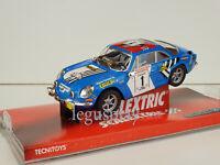 "Slot car SCX Scalextric 6450 Renault Alpine A110 ""ELF"""