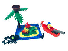 Lego® Piraten Insel Set - Palme Boot Figur 6265 6260 Papagei